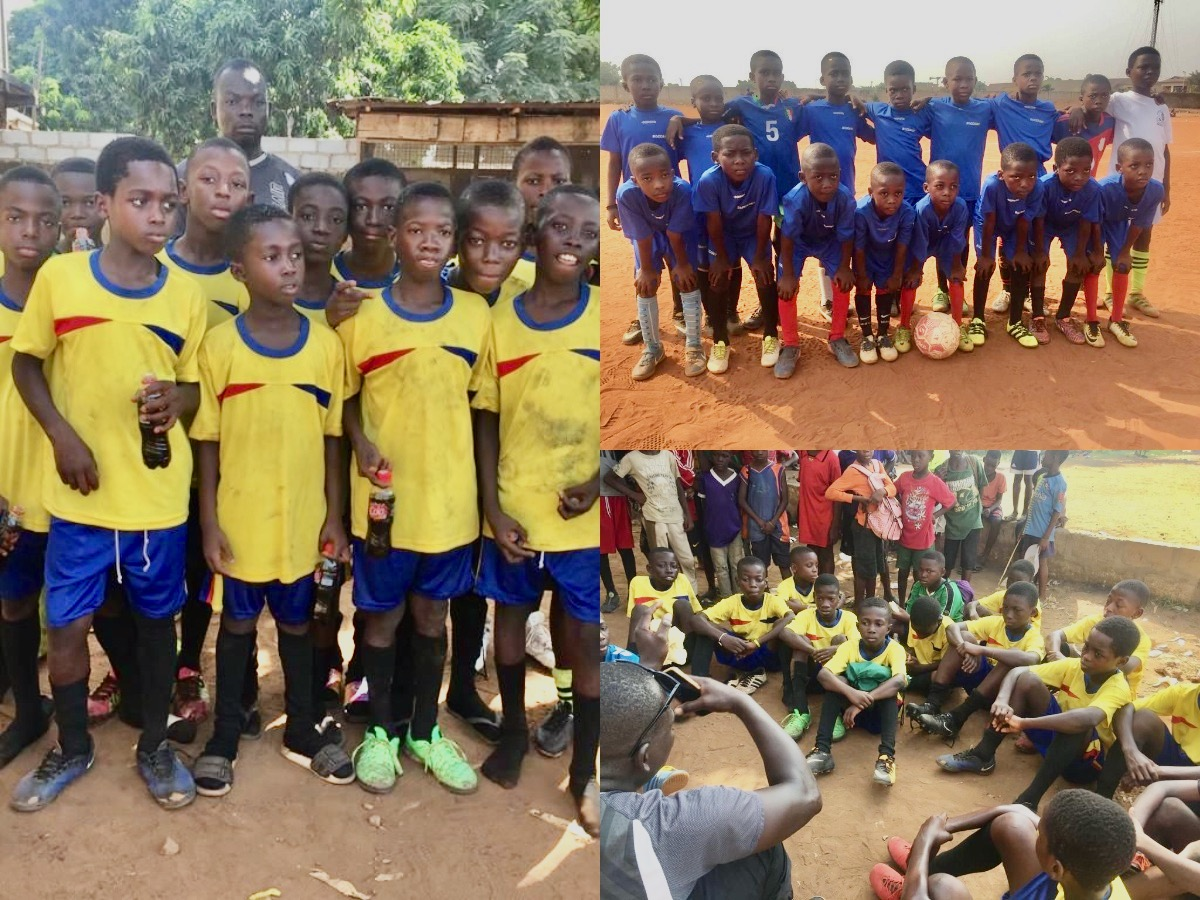 Codetrain sponsors BrianAdet Kids Soccer Foundation